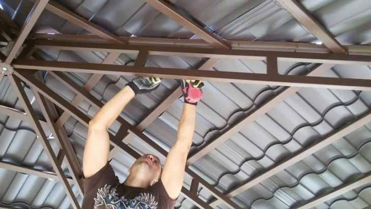 Беседка своими руками - строим красивые деревянные и каменные беседки (115 фото и видео)