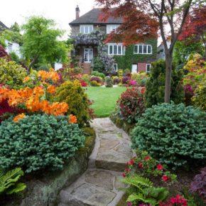 Дизайн участка 10 соток — планируем и делаем ландшафтный дизайн для загородного дома (115 фото и видео)