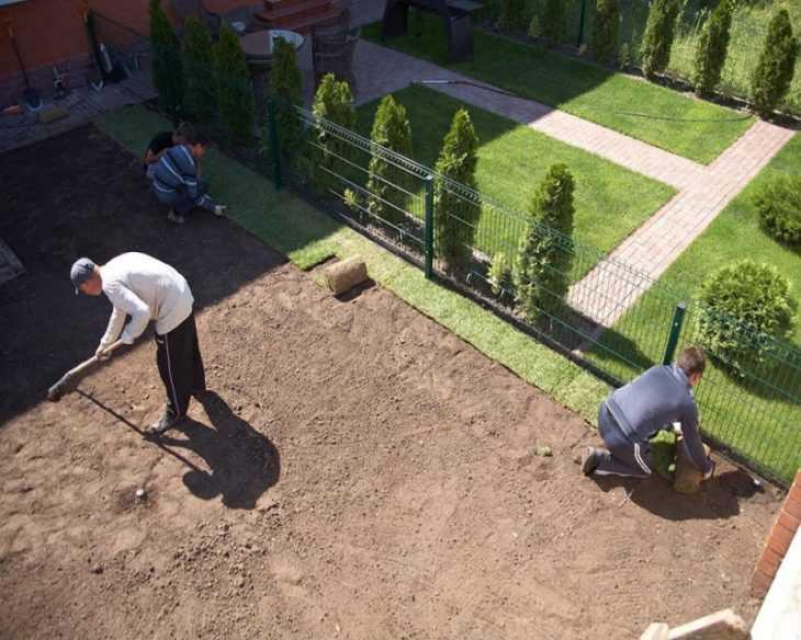 Как выровнять участок: способы и варианты создания ровного участка для дачи и сада (125 фото + видео)