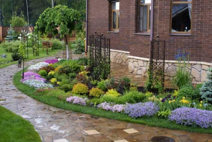 Ландшафтный дизайн участка - идеи создания стильного и красивого придомового участка и сада своими руками (150 фото и видео)