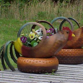 Новинки поделок для сада — лучшие поделки своими руками и особенности их изготовления (125 фото)