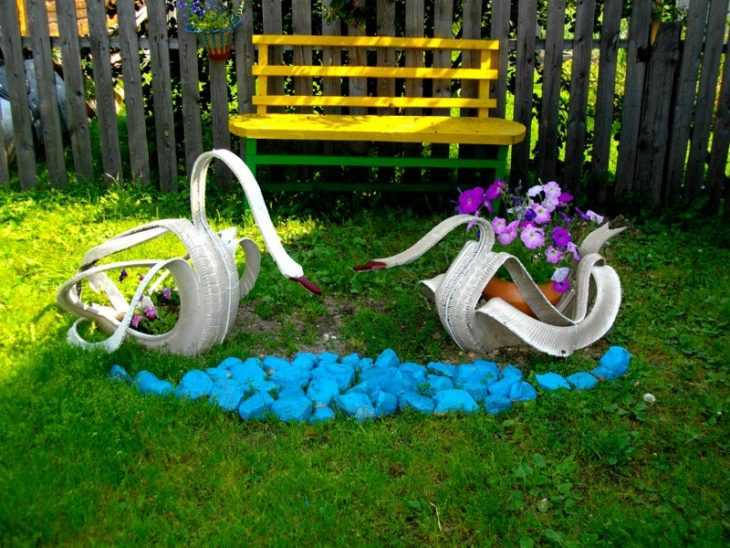 Новинки поделок для сада - лучшие поделки своими руками и особенности их изготовления (125 фото)