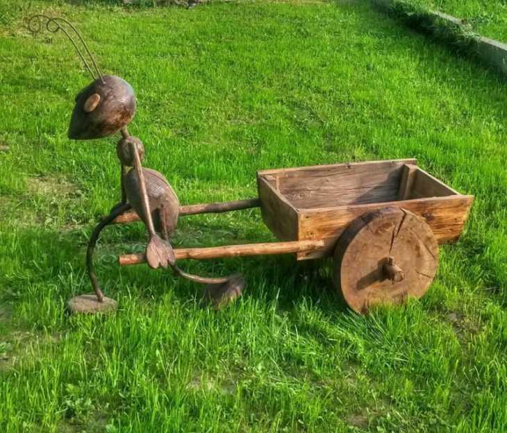 Поделки для дачи: как своими руками сделать красивые и полезные поделки для сада и огорода (105 фото)