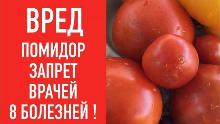 Вред от помидор при похудении