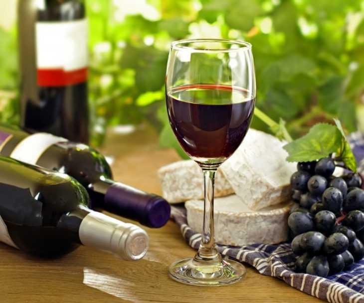 Черные сорта винограда для вина